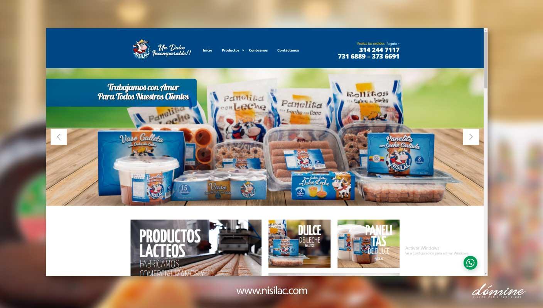 Diseño-de-pagina-web-nisilac-Domine-Publicidad