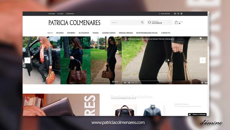 Diseño-de-pagina-web-patriciacolmenares-Domine-Publicidad
